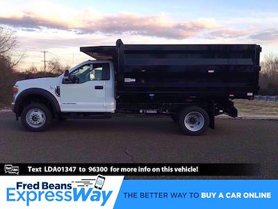 2020 Ford F-450 Regular Cab DRW 4x4, Rugby Landscape Dump #FLU00491 - photo 1