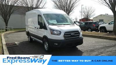 2020 Ford Transit 250 Med Roof RWD, Empty Cargo Van #FLU00494 - photo 1