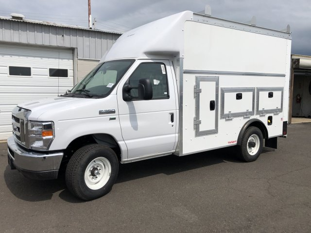 2021 Ford E-350 RWD, Rockport Workport Service Utility Van #FLU00495 - photo 3
