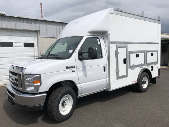 2021 Ford E-350 RWD, Rockport Workport Service Utility Van #FLU00495 - photo 5
