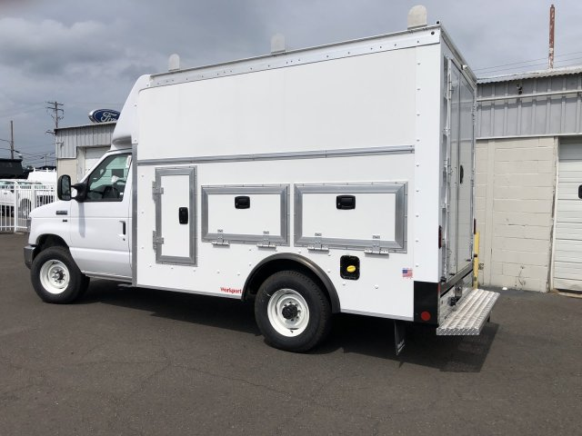 2021 Ford E-350 RWD, Rockport Workport Service Utility Van #FLU00495 - photo 2