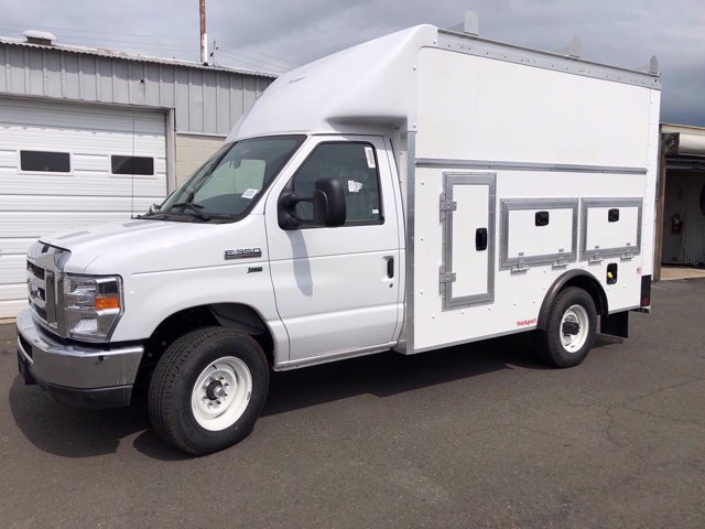 2021 Ford E-350 RWD, Rockport Workport Service Utility Van #FLU00505 - photo 3