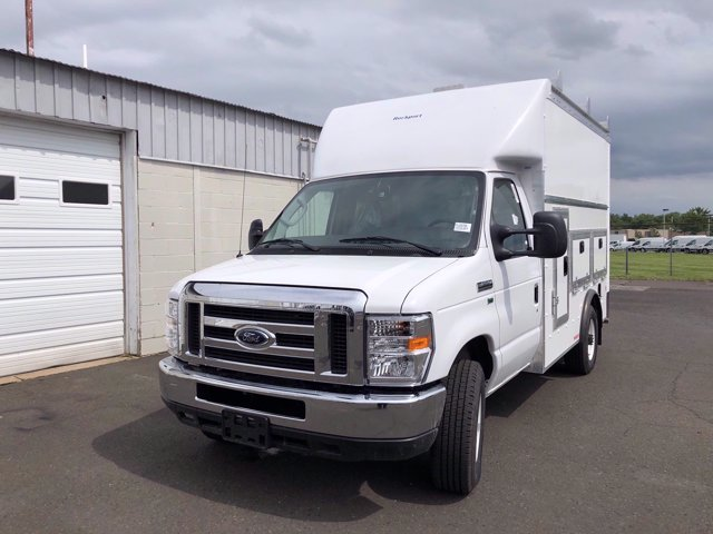 2021 Ford E-350 RWD, Rockport Workport Service Utility Van #FLU00505 - photo 4