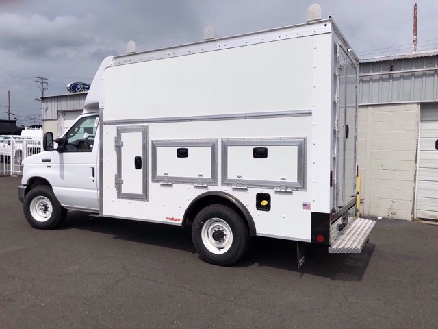 2021 Ford E-350 RWD, Rockport Service Utility Van #FLU00505 - photo 1