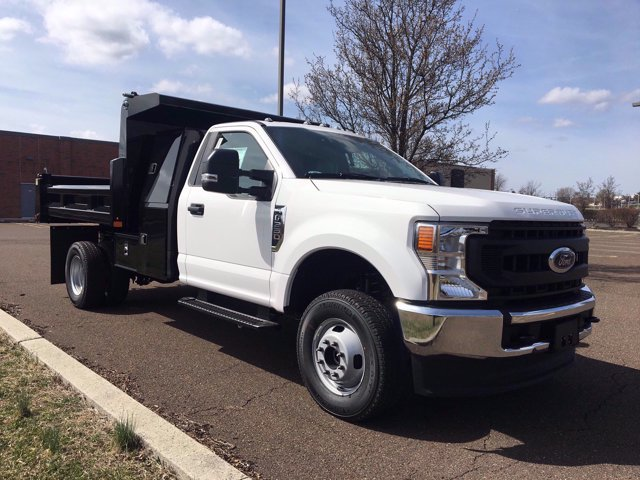 2020 Ford F-350 Regular Cab DRW 4x4, Rugby Eliminator LP Steel Dump Body #FLU00511 - photo 6
