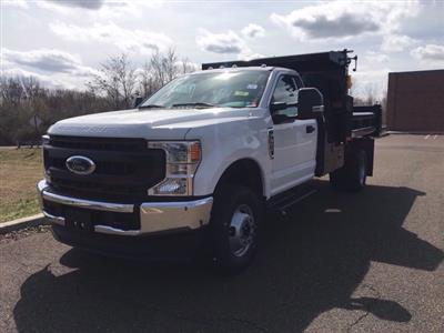 2020 Ford F-350 Regular Cab DRW 4x4, Rugby Eliminator LP Steel Dump Body #FLU00511 - photo 8