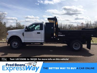 2020 Ford F-350 Regular Cab DRW 4x4, Rugby Eliminator LP Steel Dump Body #FLU00511 - photo 1