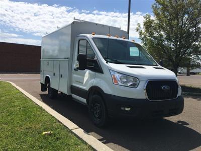 2020 Transit 350 RWD, Reading Aluminum CSV Service Utility Van #FLU00557 - photo 6