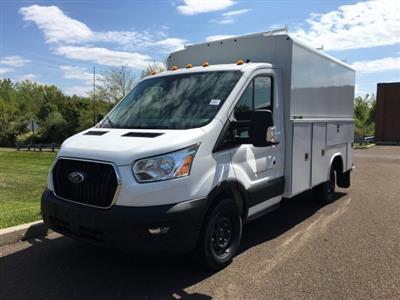 2020 Transit 350 RWD, Reading Aluminum CSV Service Utility Van #FLU00557 - photo 8