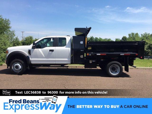 2020 Ford F-550 Super Cab DRW 4x4, Godwin 184U Dump Body #FLU00562 - photo 1