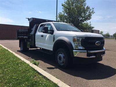 2020 Ford F-550 Super Cab DRW 4x4, Godwin 184U Dump Body #FLU00562 - photo 6