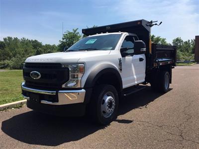 2020 Ford F-450 Regular Cab DRW 4x4, Godwin 184U Dump Body #FLU00563 - photo 7