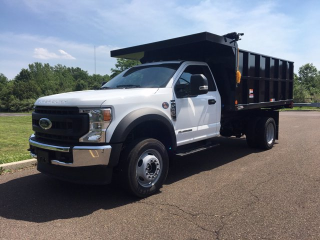2020 Ford F-450 Regular Cab DRW 4x4, Landscape Dump #FLU00571 - photo 3