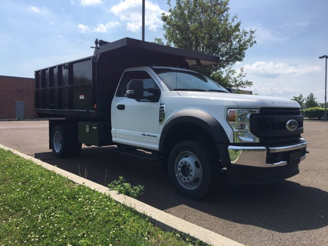 2020 Ford F-450 Regular Cab DRW 4x4, Landscape Dump #FLU00571 - photo 7