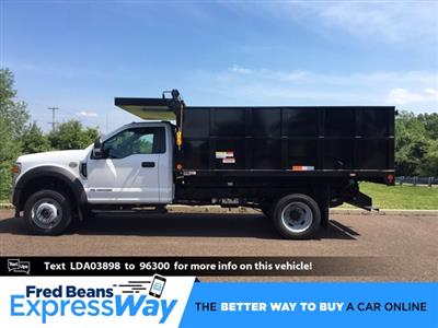 2020 Ford F-450 Regular Cab DRW 4x4, Landscape Dump #FLU00571 - photo 1