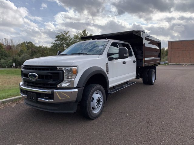 2020 Ford F-550 Crew Cab DRW 4x4, Rugby Landscape Dump #FLU00572 - photo 8