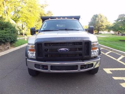 2008 Ford F-550 Crew Cab DRW 4x4, Dump Body #FLU005731 - photo 2