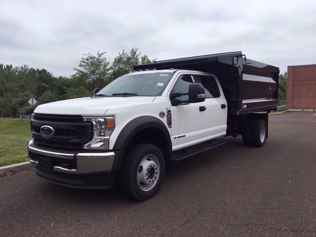2020 Ford F-450 Crew Cab DRW 4x4, Rugby Landscape Dump #FLU00576 - photo 11