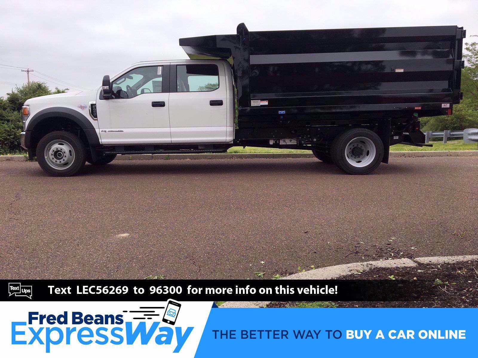 2020 Ford F-450 Crew Cab DRW 4x4, Rugby Landscape Dump #FLU00576 - photo 1