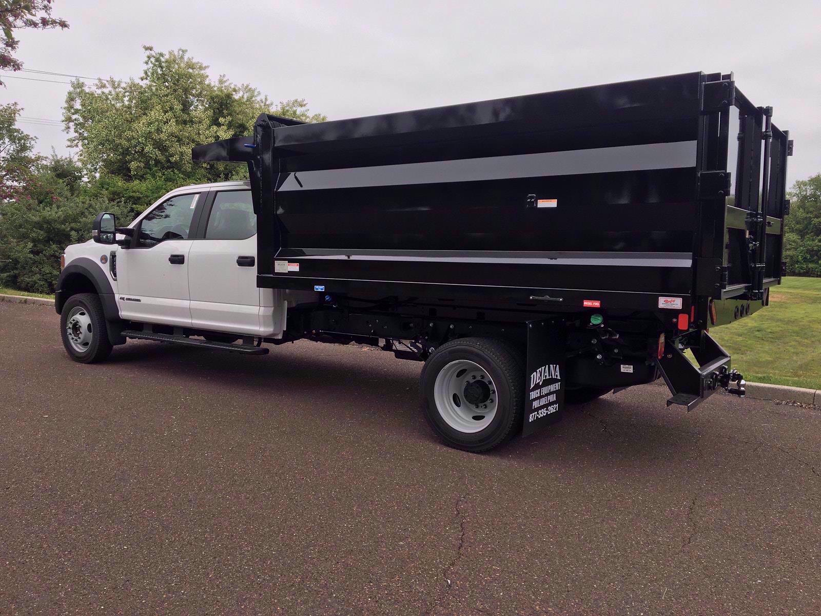 2020 Ford F-450 Crew Cab DRW 4x4, Rugby Landscape Dump #FLU00576 - photo 3