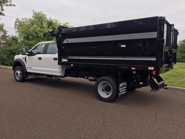2020 Ford F-450 Crew Cab DRW 4x4, Rugby Landscape Dump #FLU00576 - photo 4