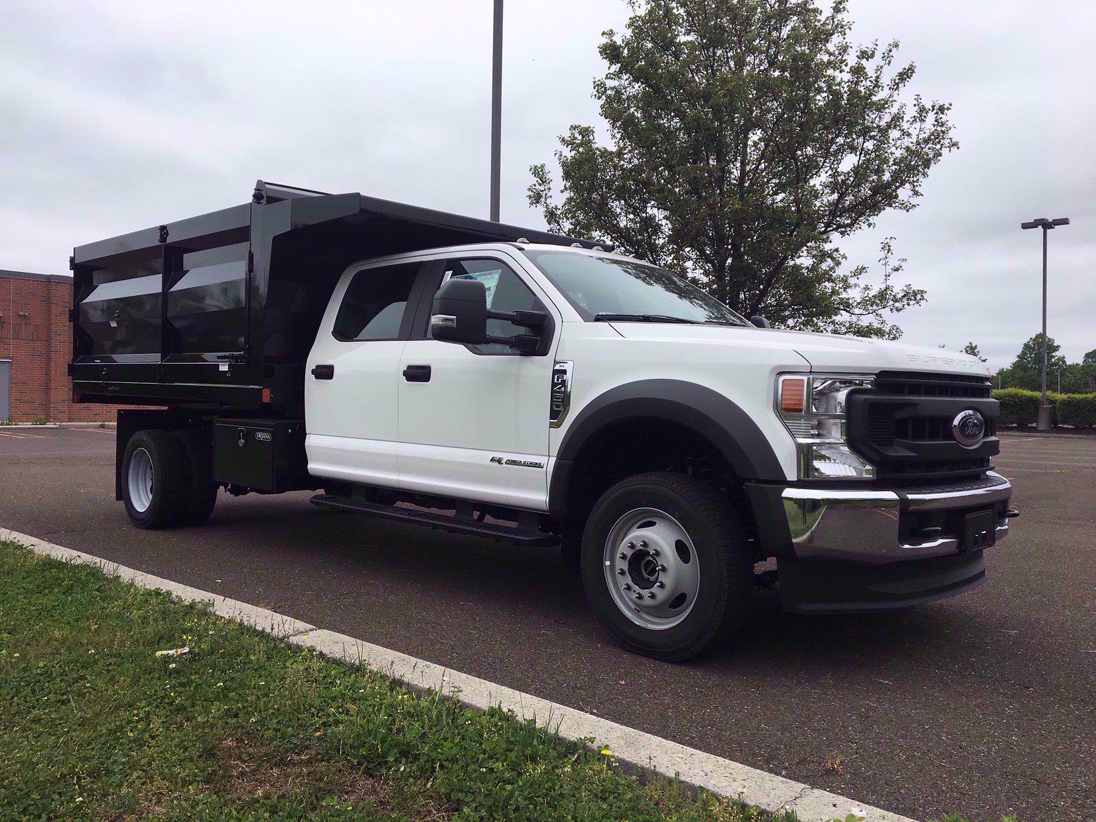 2020 Ford F-450 Crew Cab DRW 4x4, Rugby Landscape Dump #FLU00576 - photo 9