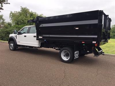 2020 Ford F-450 Crew Cab DRW 4x4, Rugby Landscape Dump #FLU00576 - photo 3