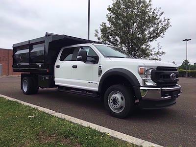 2020 Ford F-450 Crew Cab DRW 4x4, Rugby Landscape Dump #FLU00576 - photo 7