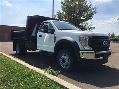 2020 Ford F-550 Regular Cab DRW RWD, Rugby Eliminator LP Steel Dump Body #FLU00580 - photo 6