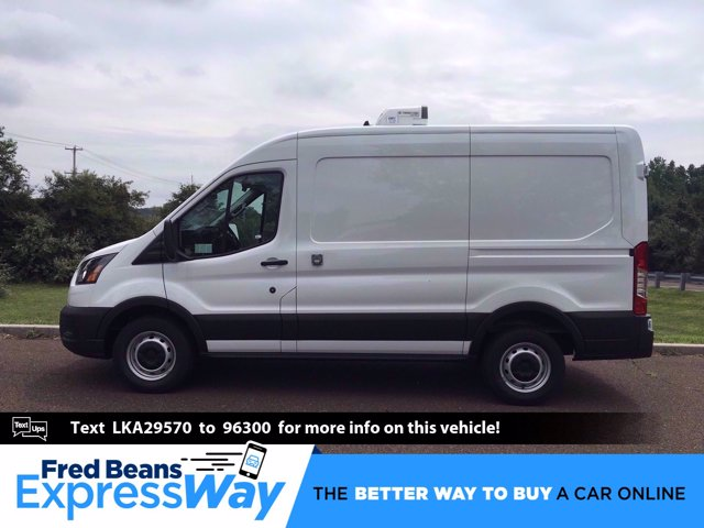 2020 Ford Transit 250 Med Roof RWD, Thermo King Refrigerated Body #FLU00589 - photo 1