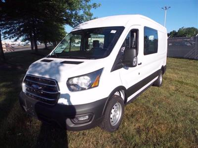 2020 Ford Transit 350 Med Roof RWD, Crew Van #FLU00606 - photo 4