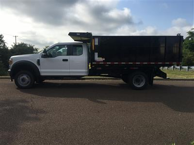 2020 Ford F-450 Super Cab DRW 4x4, Morgan Dump Body Landscape Dump #FLU00684 - photo 3