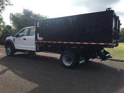 2020 Ford F-450 Super Cab DRW 4x4, Morgan Dump Body Landscape Dump #FLU00684 - photo 5