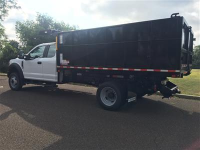 2020 Ford F-450 Super Cab DRW 4x4, Morgan Dump Body Landscape Dump #FLU00684 - photo 6