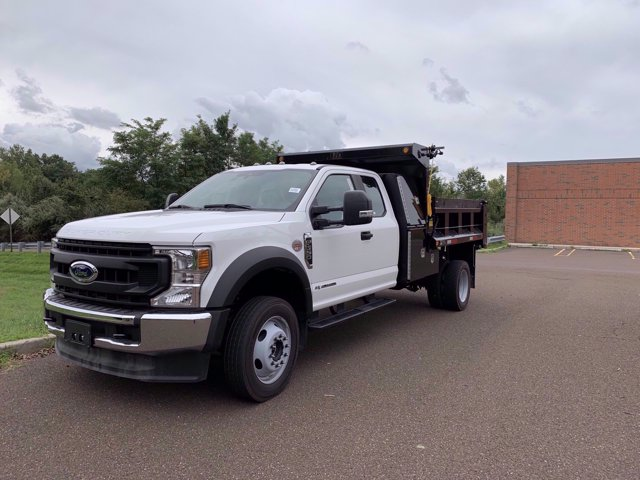 2020 Ford F-550 Super Cab DRW 4x4, Godwin 184U Dump Body #FLU00819 - photo 10