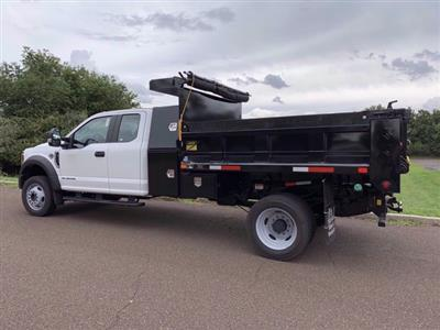2020 Ford F-550 Super Cab DRW 4x4, Godwin 184U Dump Body #FLU00819 - photo 3