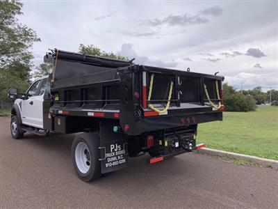 2020 Ford F-550 Super Cab DRW 4x4, Godwin 184U Dump Body #FLU00819 - photo 2