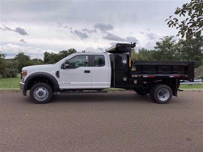 2020 Ford F-550 Super Cab DRW 4x4, Godwin 184U Dump Body #FLU00819 - photo 5