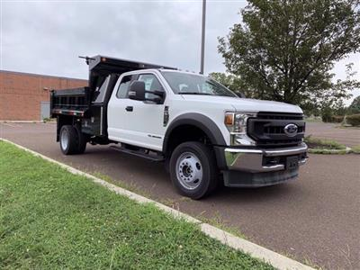 2020 Ford F-550 Super Cab DRW 4x4, Godwin 184U Dump Body #FLU00819 - photo 9