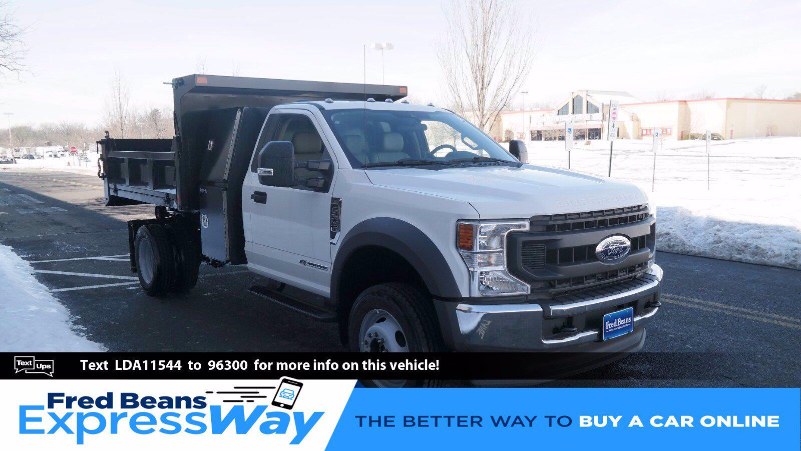 2020 Ford F-550 Regular Cab DRW 4x4, SH Truck Bodies Dump Body #FLU00843 - photo 1