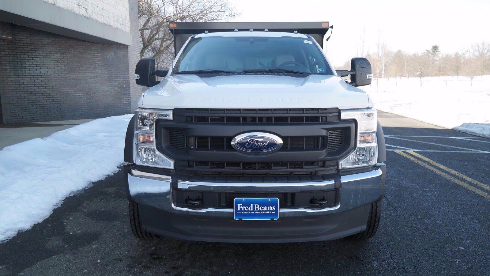 2020 Ford F-550 Regular Cab DRW 4x4, SH Truck Bodies Dump Body #FLU00843 - photo 3