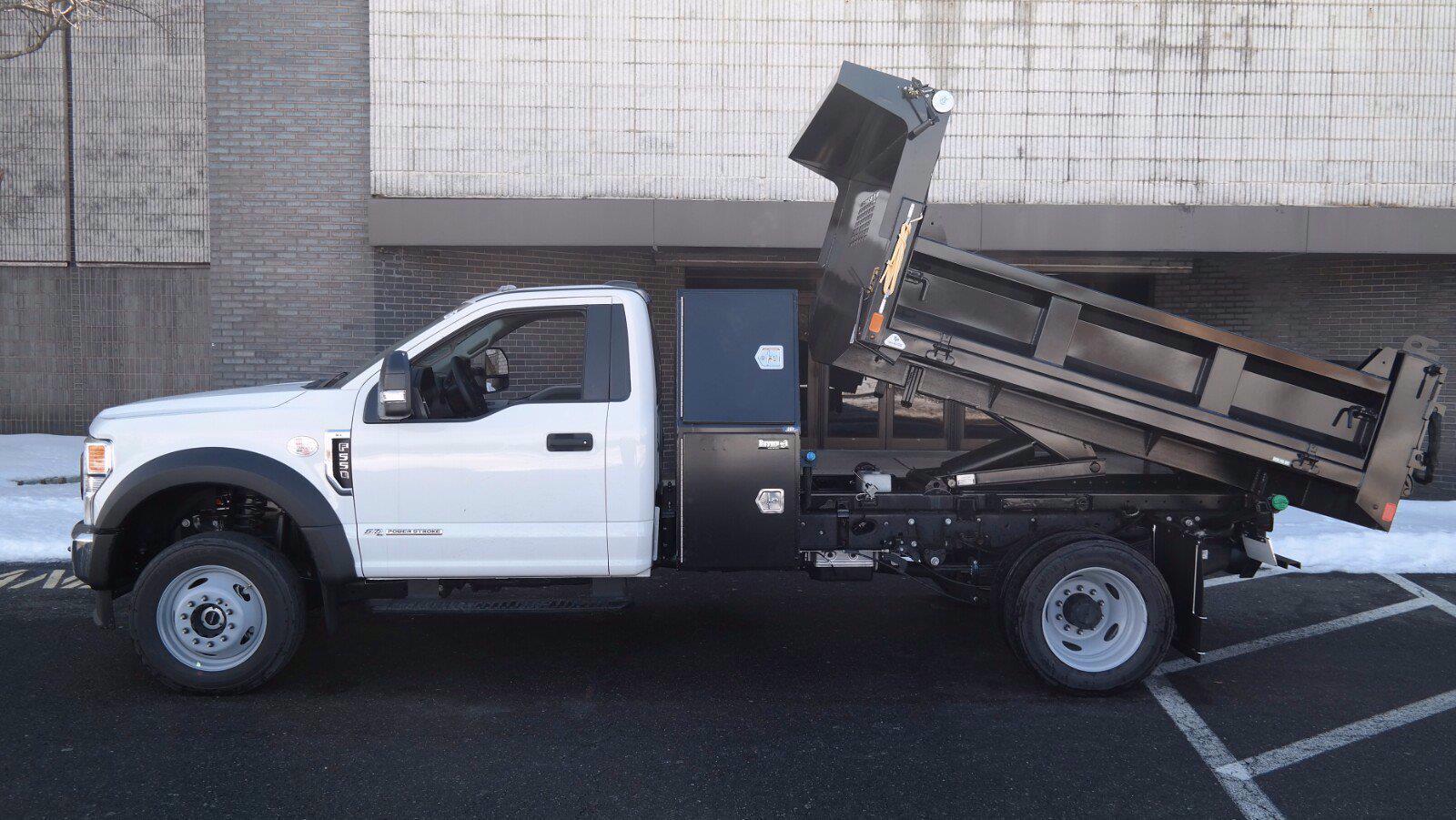 2020 Ford F-550 Regular Cab DRW 4x4, SH Truck Bodies Dump Body #FLU00843 - photo 5