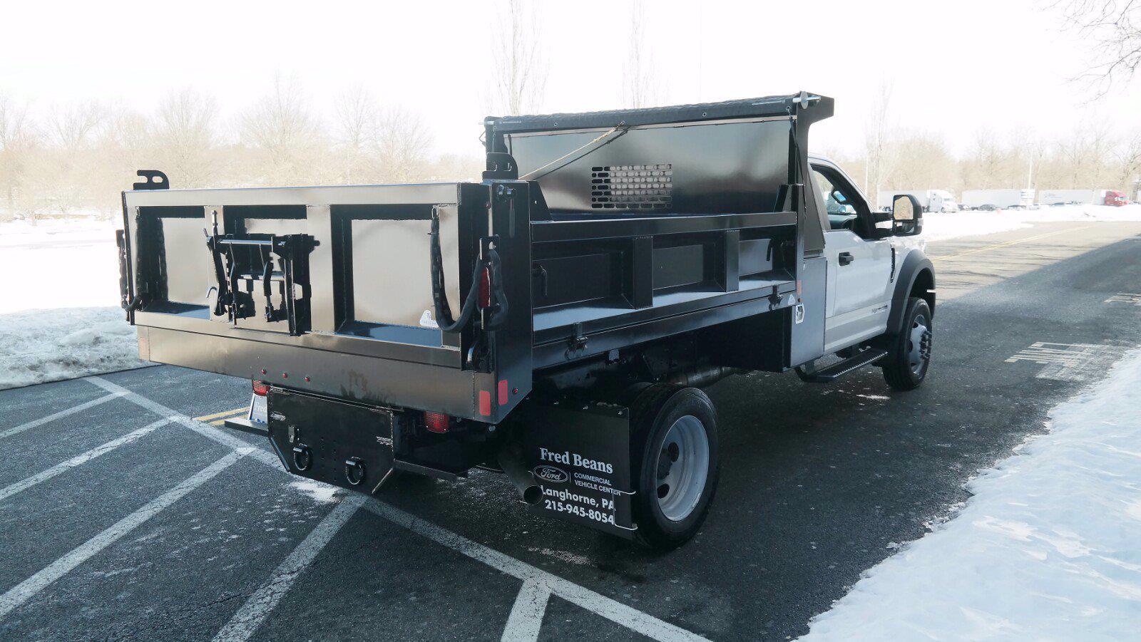 2020 Ford F-550 Regular Cab DRW 4x4, SH Truck Bodies Dump Body #FLU00843 - photo 2