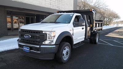 2020 Ford F-550 Regular Cab DRW 4x4, SH Truck Bodies Dump Body #FLU00843 - photo 4