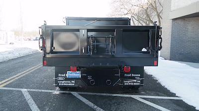 2020 Ford F-550 Regular Cab DRW 4x4, SH Truck Bodies Dump Body #FLU00843 - photo 7