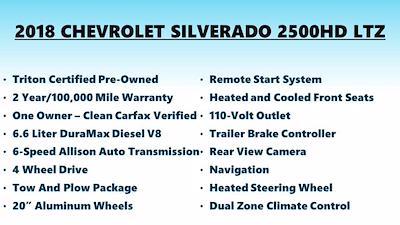 2018 Chevrolet Silverado 2500 Crew Cab 4x4, Pickup #FLU008431 - photo 4