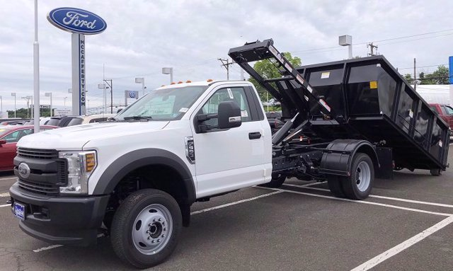 2020 Ford F-550 Regular Cab DRW 4x4, Switch N Go Drop Box Hooklift Body #FLU00847 - photo 10