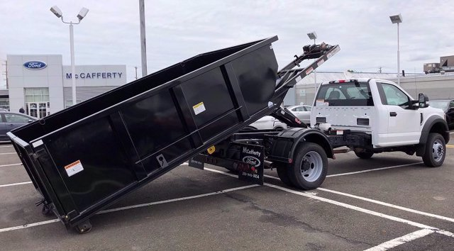 2020 Ford F-550 Regular Cab DRW 4x4, Switch N Go Drop Box Hooklift Body #FLU00847 - photo 11