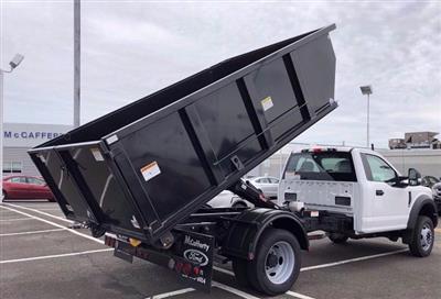 2020 Ford F-550 Regular Cab DRW 4x4, Switch N Go Drop Box Hooklift Body #FLU00847 - photo 8