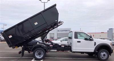 2020 Ford F-550 Regular Cab DRW 4x4, Switch N Go Drop Box Hooklift Body #FLU00847 - photo 7